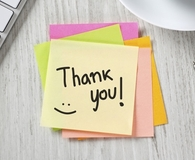 Learning how saying thanks can make you rich