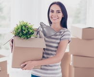 Woman learning how buying a house impacts her career