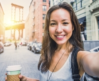 Woman living in best city with rent control
