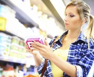 Woman learning how much she can trust the food label
