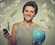 Woman learning skills frugal people should master