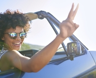 Woman wondering if she should buy her leased car