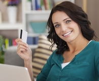 Woman learning surprising ways revolving debt helps you