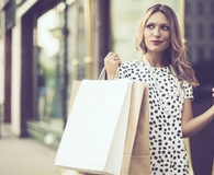 Woman making shopping mistakes keeping her from a great deal