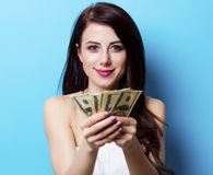 Woman making money moves when big changes happen