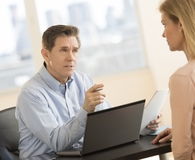 Woman being asked questions a potential employer cannot ask