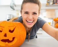 Woman finding ways to make this the best Halloween yet