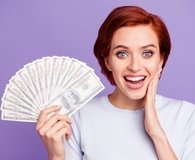 Woman making better money decisions