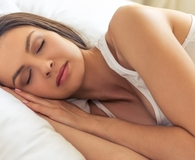 Woman finding ways to get more sleep tonight