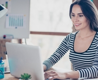 Woman happy to be paying down debt