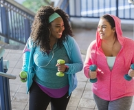 Women finding easy ways to get more exercise