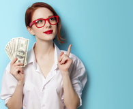 Woman in her 20s hitting personal finance milestones