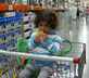child at Costco