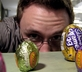 Man with Easter candy