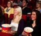 People in a movie theater