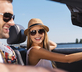 couple enjoying easy car rental hacks