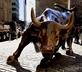 Wall Street bull in New York City