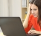 "Woman avoiding terrible work-from-home ""jobs"""