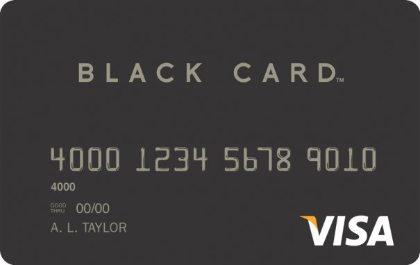 visa black credit card