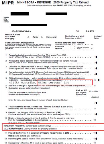 Minnesota form m1prx amend instructions intuit turbo real money talk.