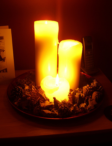 Holiday Candles by Athena
