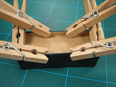 clothespins as project clamps