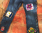 custom jean patch