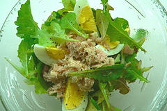 egg salad topper