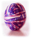 rubber band egg