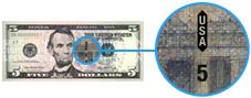 Security thread on new $5