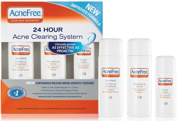 how to use clear now skin care system