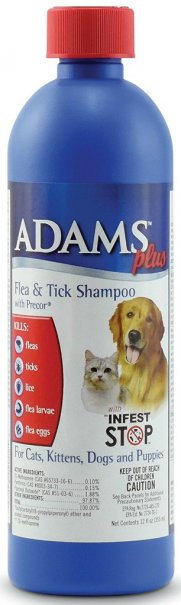 The Adams Plus Flea & Tick Shampoo with Precor for Dogs and Cats is Amazon's #1 best-seller in dog flea control shampoos, as well as the best seller in cat ...