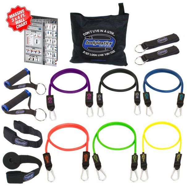 Bodylastics Anti Snap Resistance Exercise Bands Set