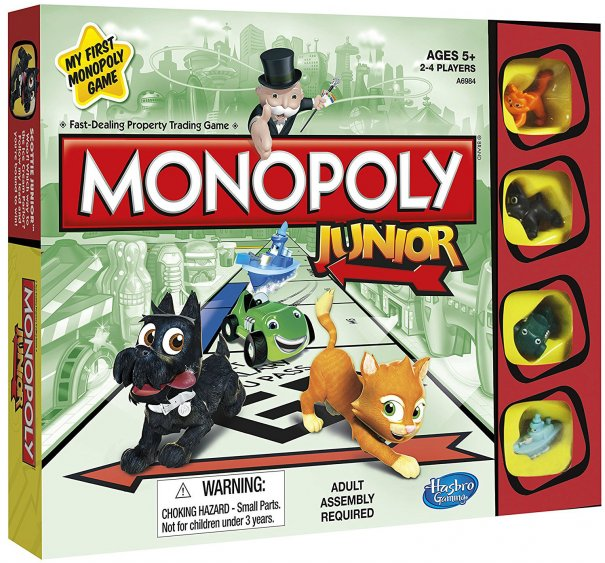 hasbro monopoly junior instructions