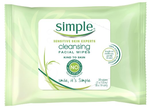Alcohol facial wipes
