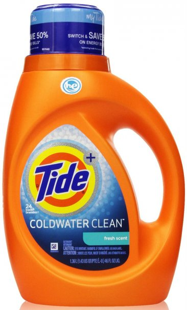 Tide Plus Coldwater High Efficiency Liquid Laundry Detergent