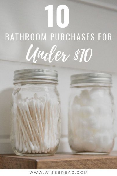 The bathroom is usually the place in the home that often looks disorganised and messy. We've got the budget friendly and cheap products you can buy to organise and sort your bathroom look! #bathroom #organisation #homehacks
