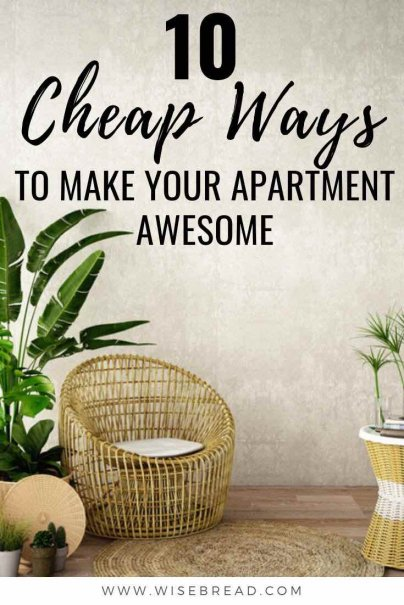 Want to update your apartment? Well you can be frugal and thrifty, but impactful with these DIY ideas that'll transform your home! | #frugalhome #hometips #renovation