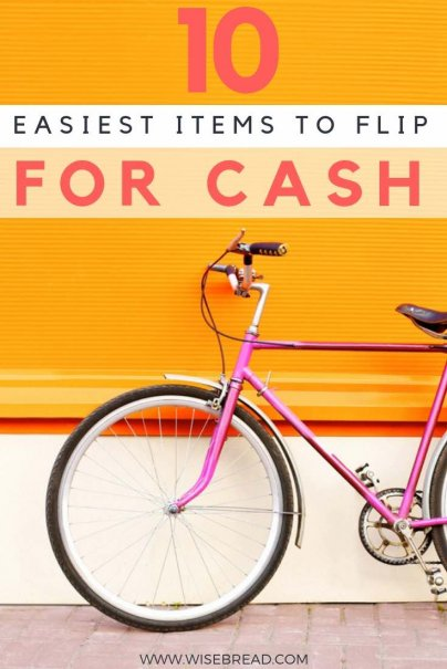 Like thrift stores? Auctions? Yard sales? Or do you have a lot of old vintage things lying around the home? If you know what to look for, there's extra money to be made. Here are 10 of the easiest items you can flip for fast cash. | #extracash #sidehustle #extraincome
