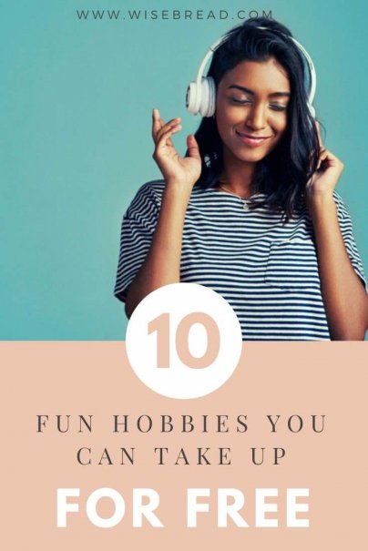 Some hobbies and activities can cost a bit of money, but there are plenty of others you can start for free. Here are 10 frugal and fun hobbies to try. | #cheapactivities #cheapfun #frugal