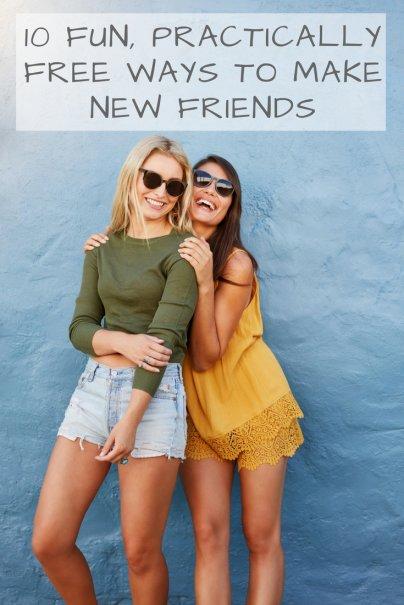 10 Fun, Practically Free Ways to Make New Friends