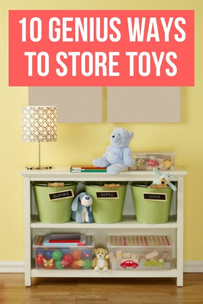 10 Genius Ways to Store Toys