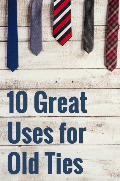 10 Great Uses for Old Ties