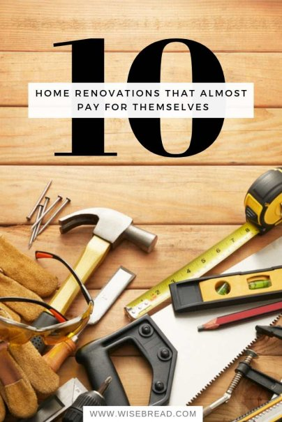 10 Home Renovations That Almost Pay for Themselves
