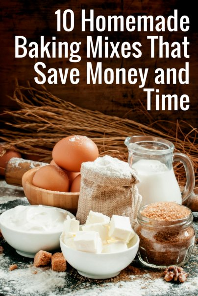10 Homemade Baking Mixes That Save Money and Time