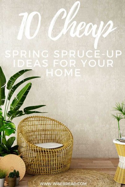 Time to revamp your home? It doesn't need to be expensive! We've got the tips to help you stick to your budget while you spruce up your home #frugalliving #frugaltips #revamp