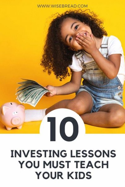 Want to set up your kids for success? Here are 10 easy ways to teach your children about smart investing. | #investing #parenting #moneymatters