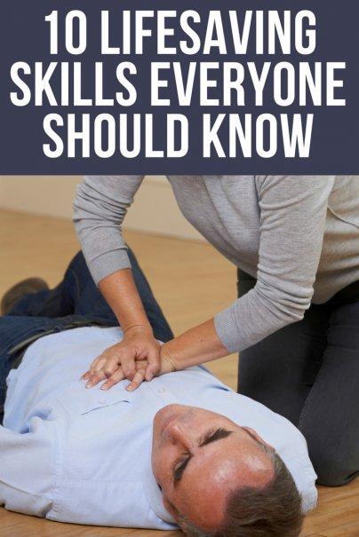 10 Lifesaving Skills Everyone Should Know