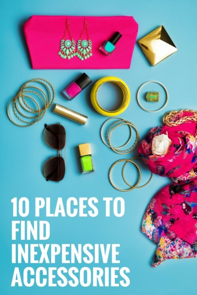 10 Places to Find Inexpensive Accessories
