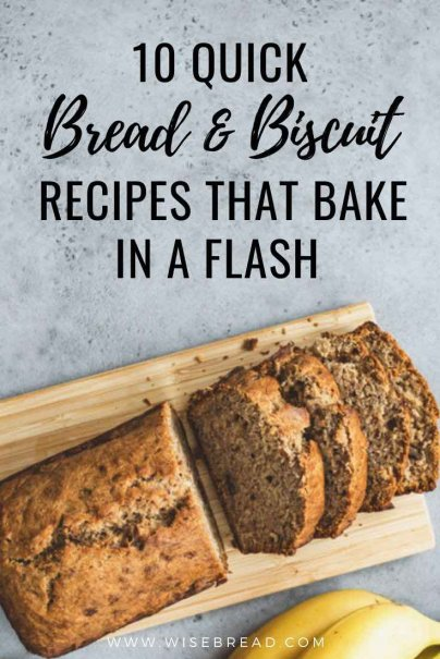 Want to make your own food? Here are 10 quick bread and biscuit recipes that you can make at home! | #Bread #recipes